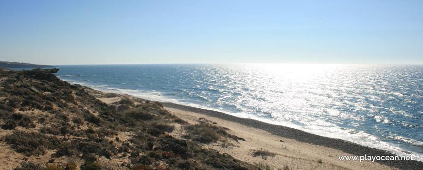 Sul na Praia da Cruz
