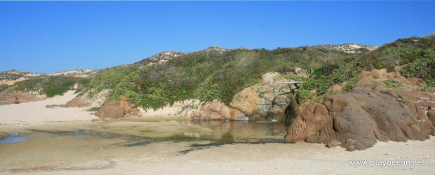 Poça na Praia dos Nascedios