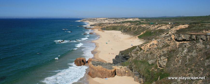 Norte, Praia do Malhão (Sul)