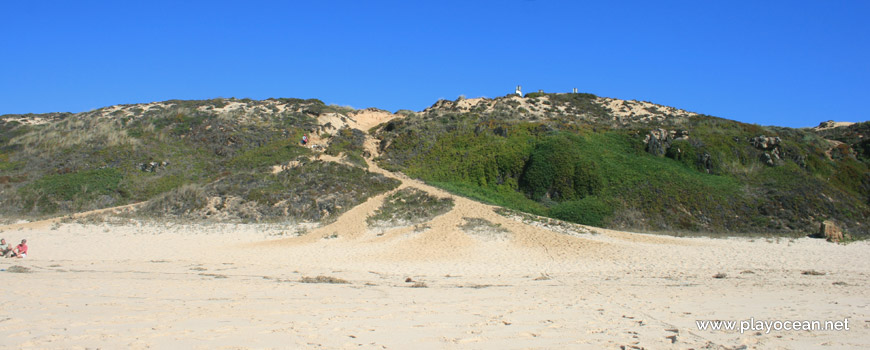 Dunas na Praia do Malhão (Sul)