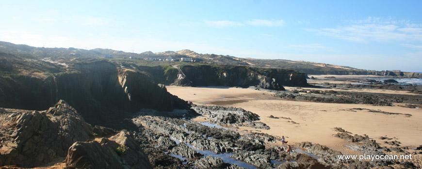 Sul na Praia de Nossa Senhora