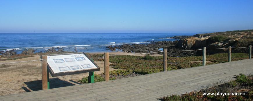 Entrada da Praia de Nossa Senhora