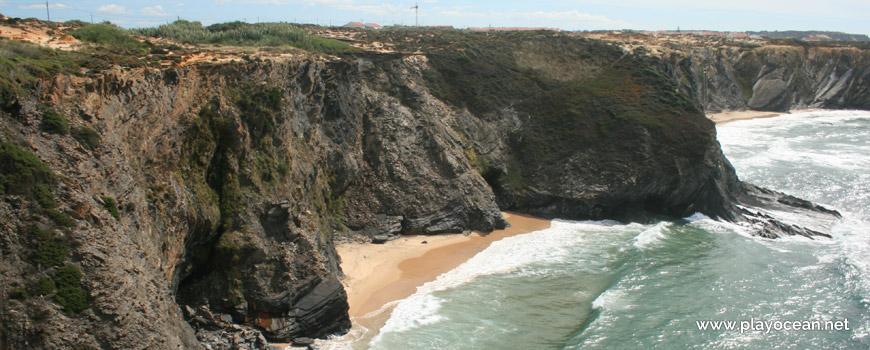Sul na Praia da Pedra da Bica