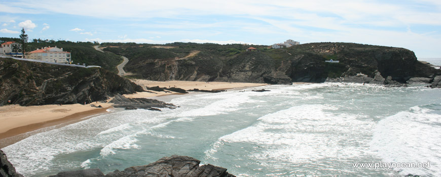 Panorâmica da Praia da Zambujeira do Mar
