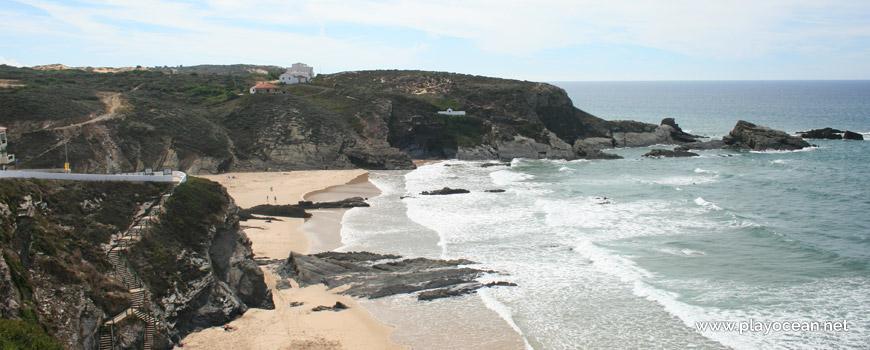 Sul na Praia da Zambujeira do Mar