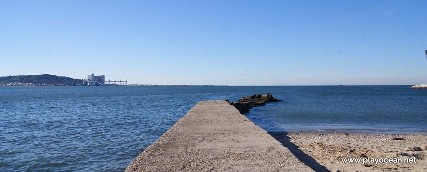 Pontão, Praia de Algés