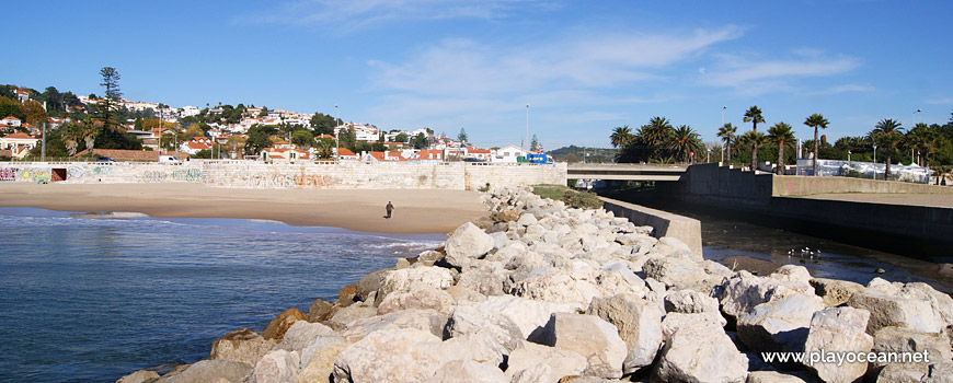 Praia de Caxias e Ribeira dos Ossos