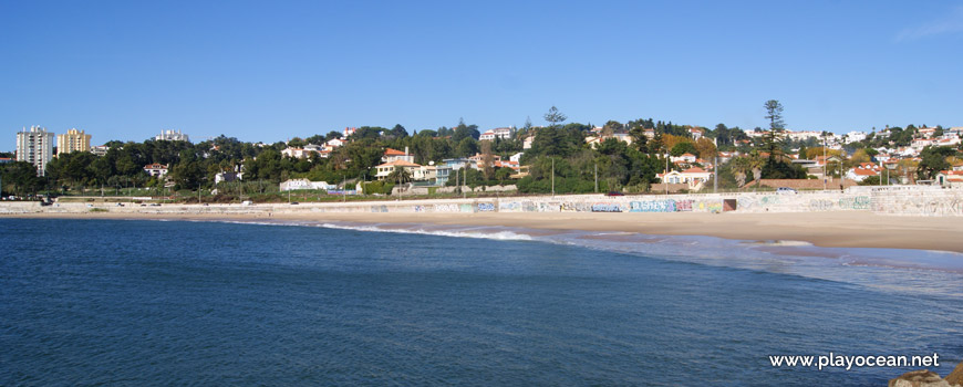Panoramic of Praia de Caxias Beach