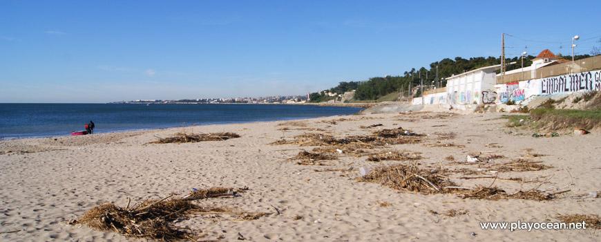 Oeste da Praia da Cruz Quebrada