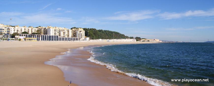 Beira-mar, Praia de Santo Amaro de Oeiras