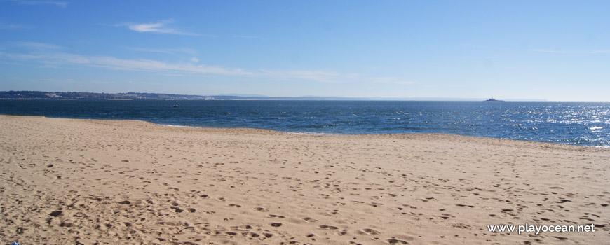 Mar na Praia de Santo Amaro de Oeiras
