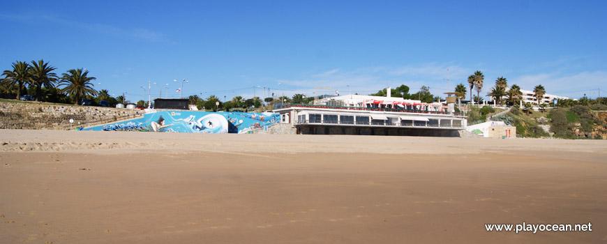 Bar at Praia da Torre Beach