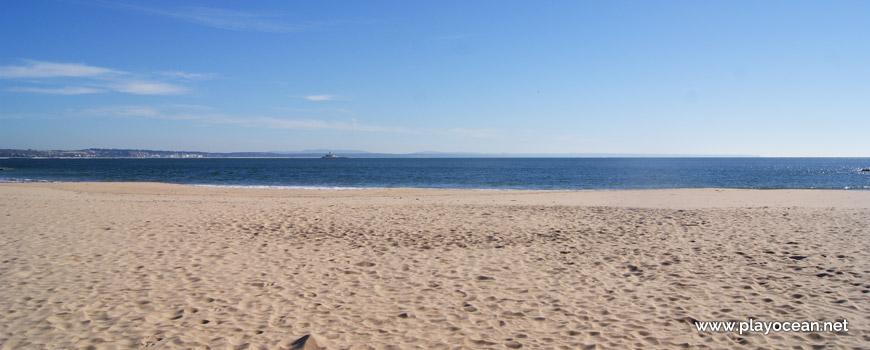 Sea at Praia da Torre Beach