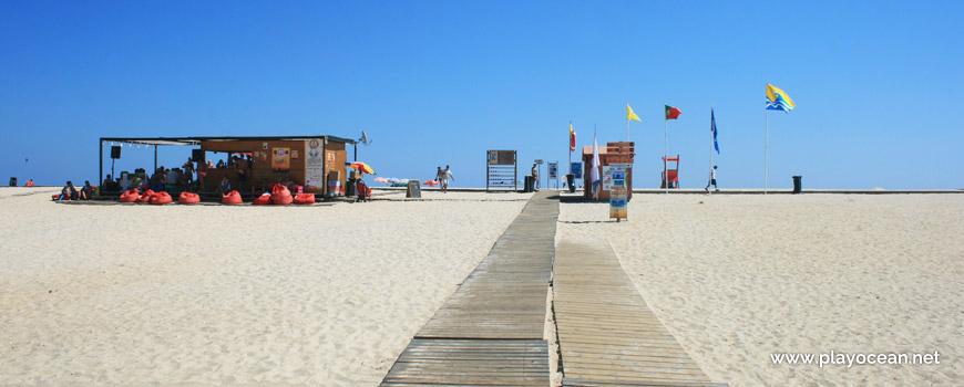Estandartes na Praia da Fuseta (Mar)