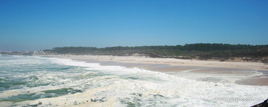 Panorâmica da Praia de Cortegaça (Sul)