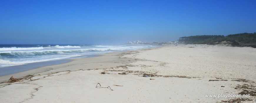 North of Praia de Cortegaça (South) Beach