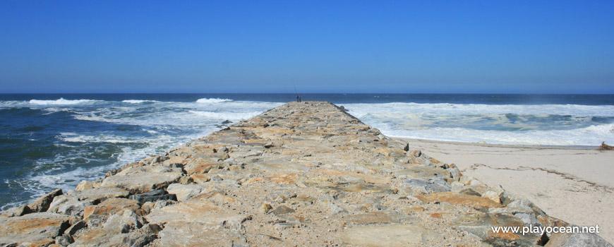 Pontão, Praia de Cortegaça (Sul)