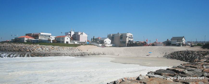 Praia de Cortegaça vista do pontão