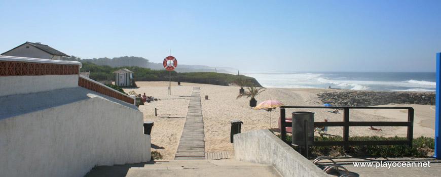 Entrada da Praia de Cortegaça