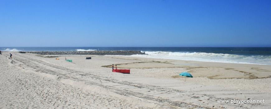 South of Praia do Furadouro Beach