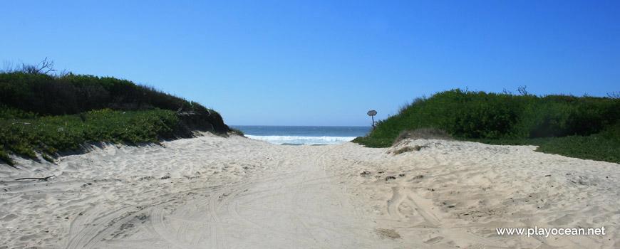 Acesso à Praia de Torrão do Lameiro