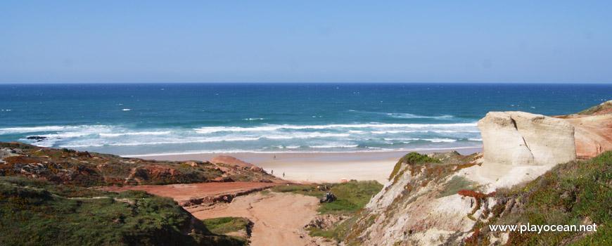 Mar na Praia da Almagreira