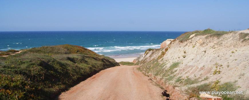 Caminho para a Praia da Almagreira