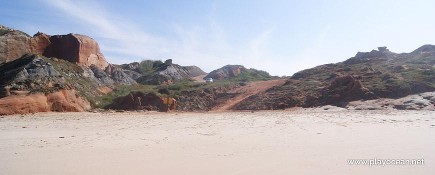 Falésia na Praia da Almagreira
