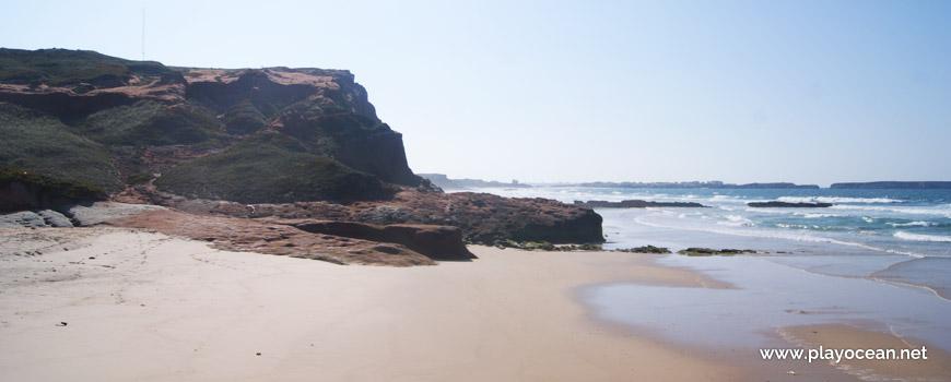 Cliff, Praia da Almagreira Beach