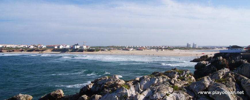 Panorâmica da Praia do Baleal (Norte)