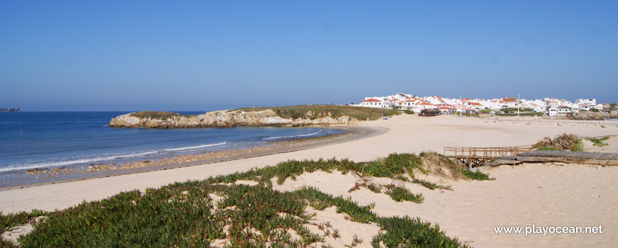 North at Praia do Baleal (South) Beach