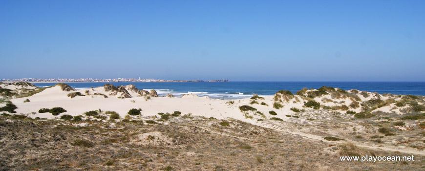 Dunes at Praia do Campismo Beach