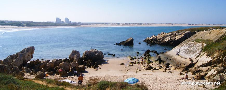 Sea at Praia das Cebolas Beach