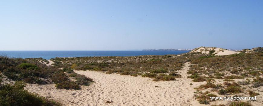 Dunas na Praia da Consolação (Norte)