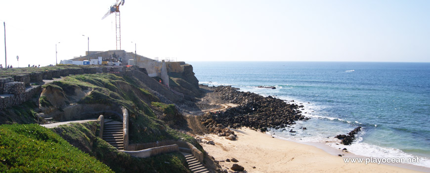 Escadaria na Praia da Consolação