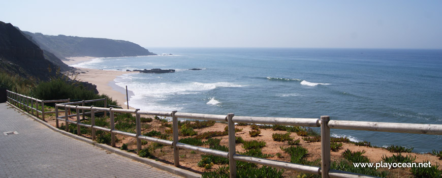 Cliff top, Praia dos Frades Beach