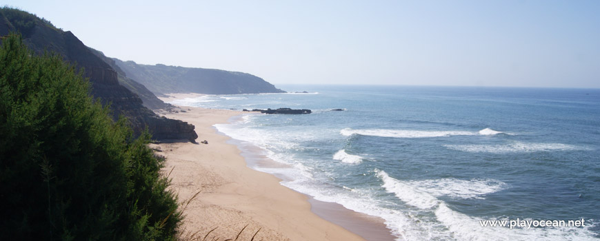 South at Praia dos Frades Beach