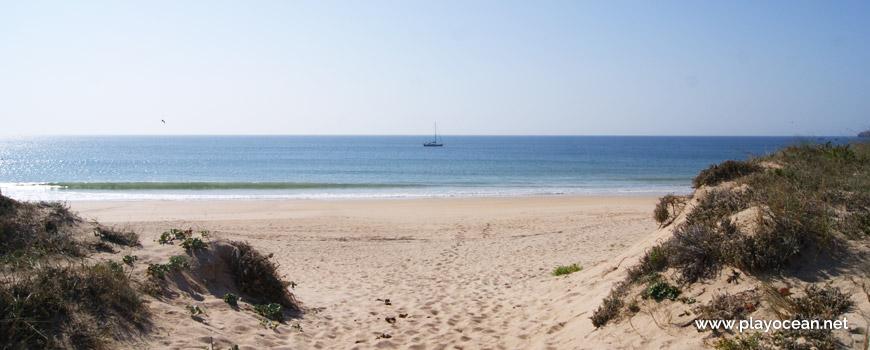 Sea at Praia do Medão Grande Beach