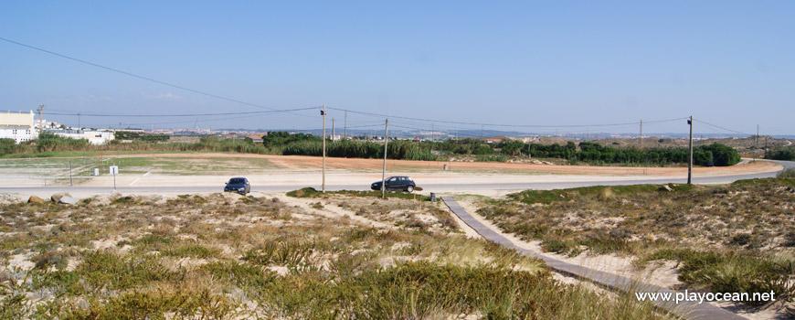Estacionamento na Praia do Molhe Leste