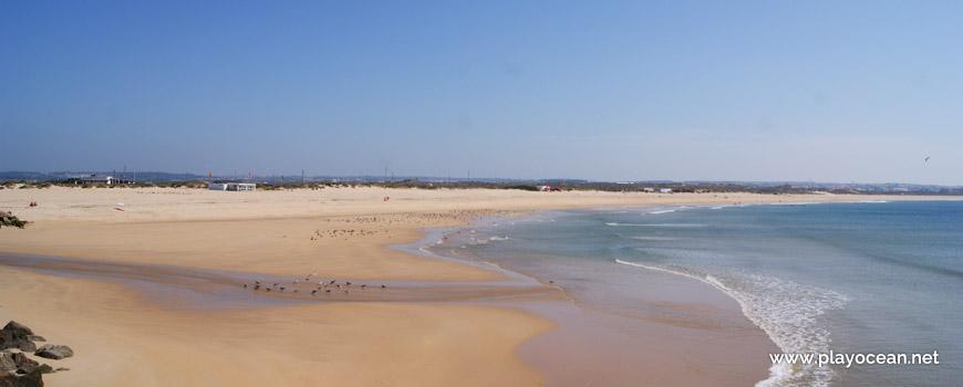 Beira-mar na Praia do Molhe Leste