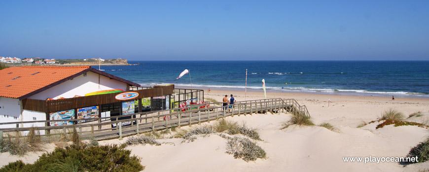 Bar at Praia de Peniche de Cima Beach