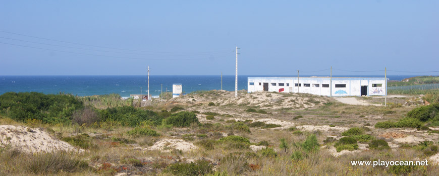 Factory at Praia de Point Fabril Beach