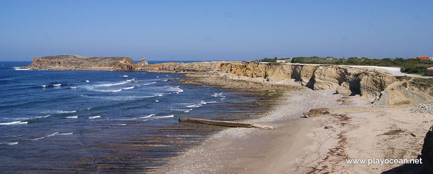 North at Praia do Portinho da Areia do Norte Beach