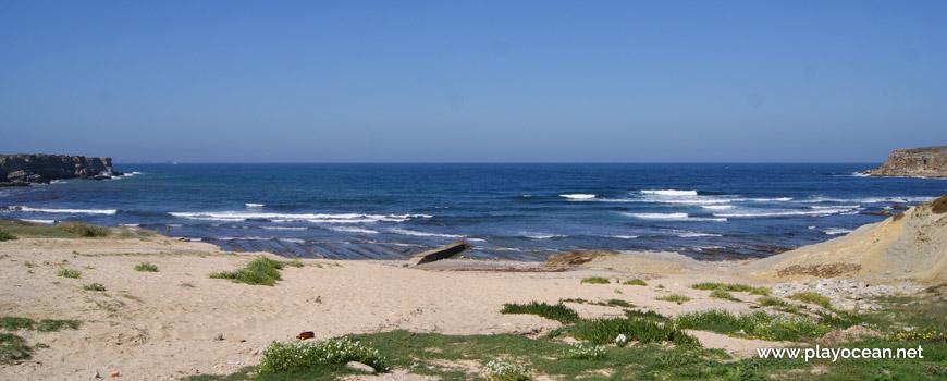 Sea at Praia do Portinho da Areia do Norte Beach