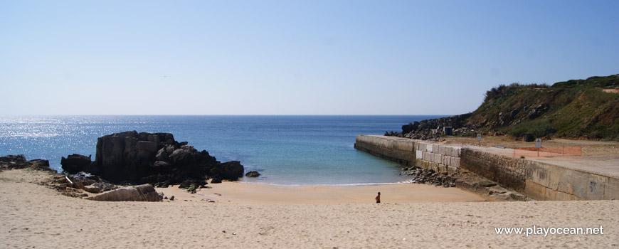 Mar na Praia do Portinho da Areia Sul