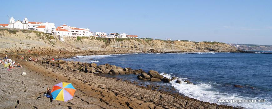 Sea at Praia das Rochas Beach