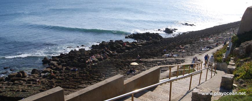 Stairway at Praia das Rochas Beach