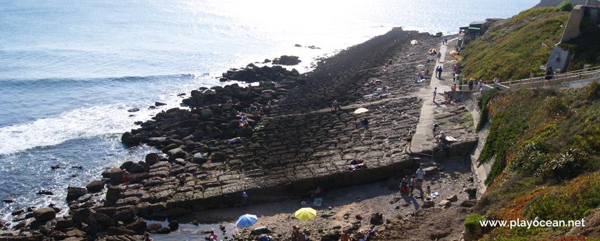West at Praia das Rochas Beach