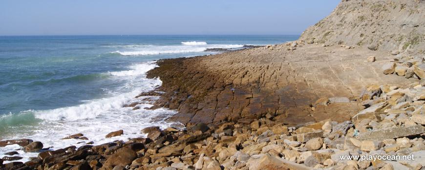 Laje na Praia do Salgueiro