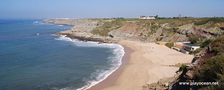 North at Praia de São Bernardino Beach